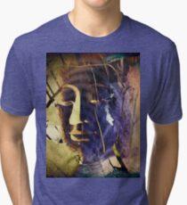 6890 Buddha Brown Tones T Tri-blend T-Shirt