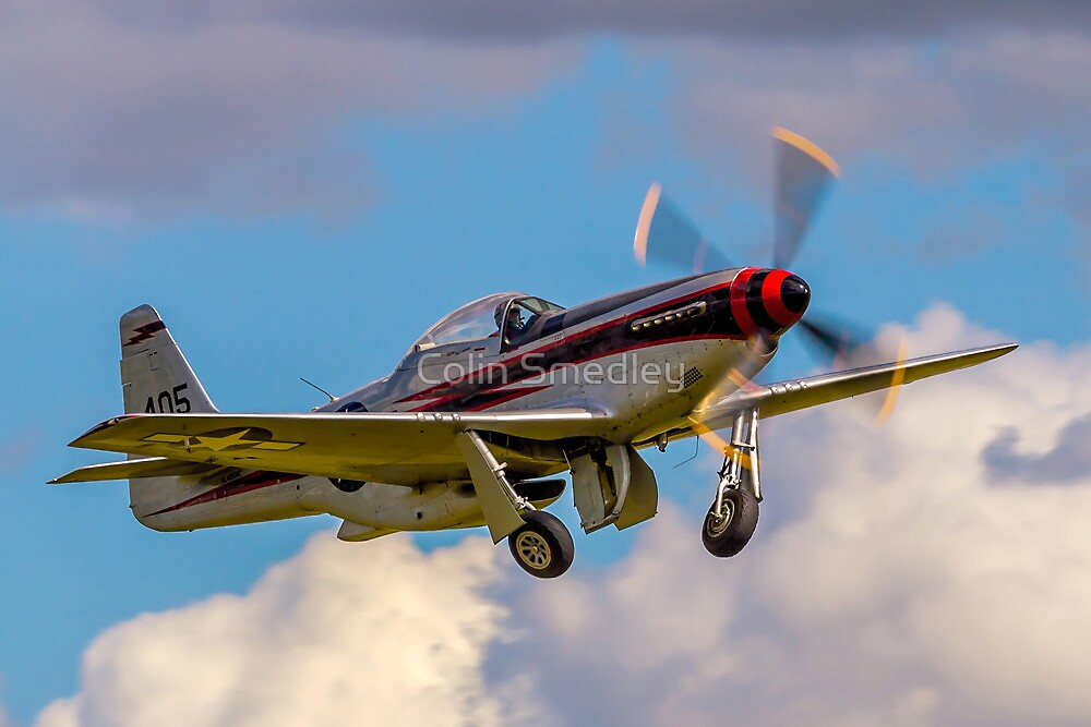 """Cavalier F-51D Mustang 2 NL405HC """"It's about time"""" by Colin Smedley"""