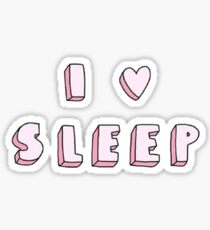 I <3 Sleep Sticker
