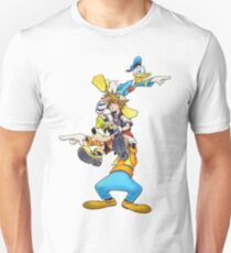 Kingdom Hearts: Where To Now? Slim Fit T-Shirt