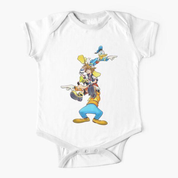 Kingdom Hearts: Where To Now? Short Sleeve Baby One-Piece