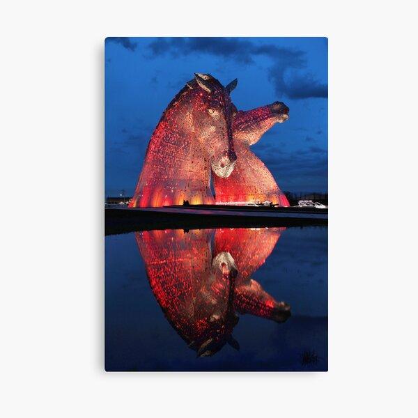 The Kelpies Canvas Print