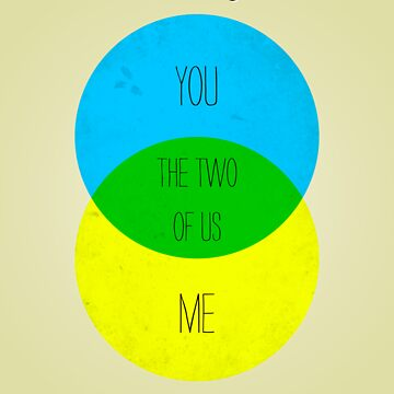 Venn diagram of our lives by MalvadoPhD