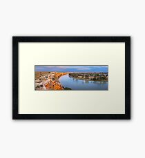 Murray River Big Bend, South Australia Framed Print