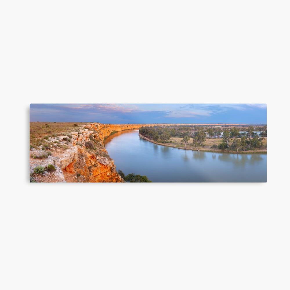 Murray River Big Bend, South Australia Metal Print