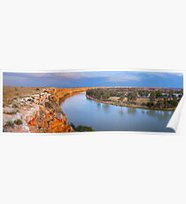 Murray River Big Bend, South Australia Poster