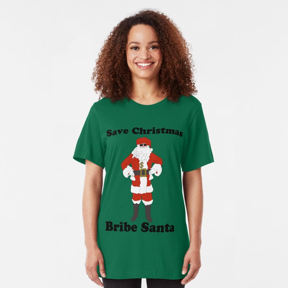Bribe Santa Slim Fit T-Shirt