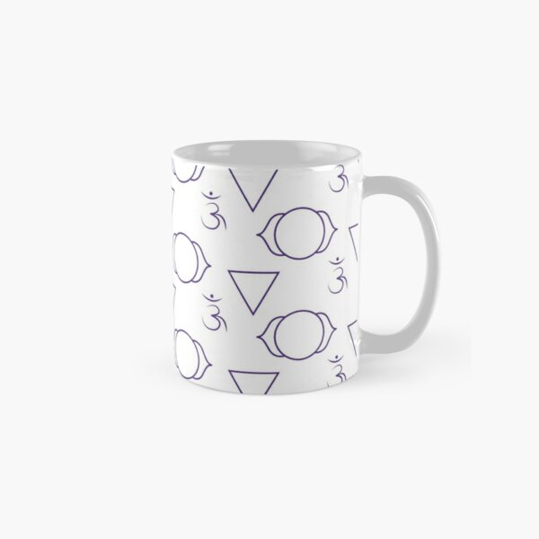 Third Eye Deconstructed Seamless Pattern Classic Mug