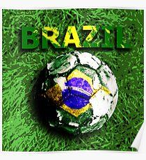 Old football (Brazil) Poster