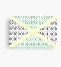 digital Flag (Jamaica) Canvas Print