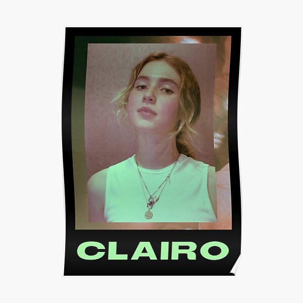 clairo poster Poster