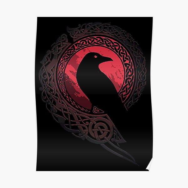 EDDA nordic mythology Poster