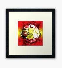 football spain Framed Print