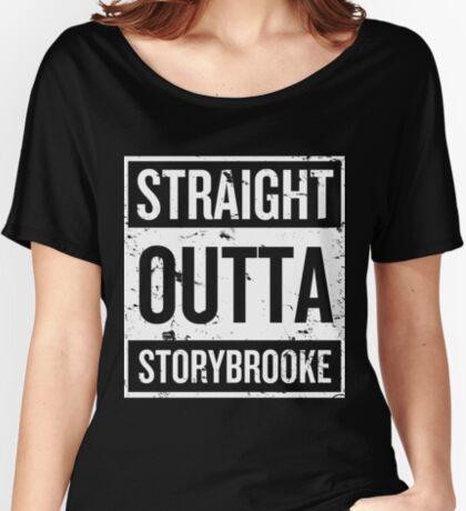 f334ded86548 T-shirt coupe relax femme « Calum Hood Maine T-shirt »