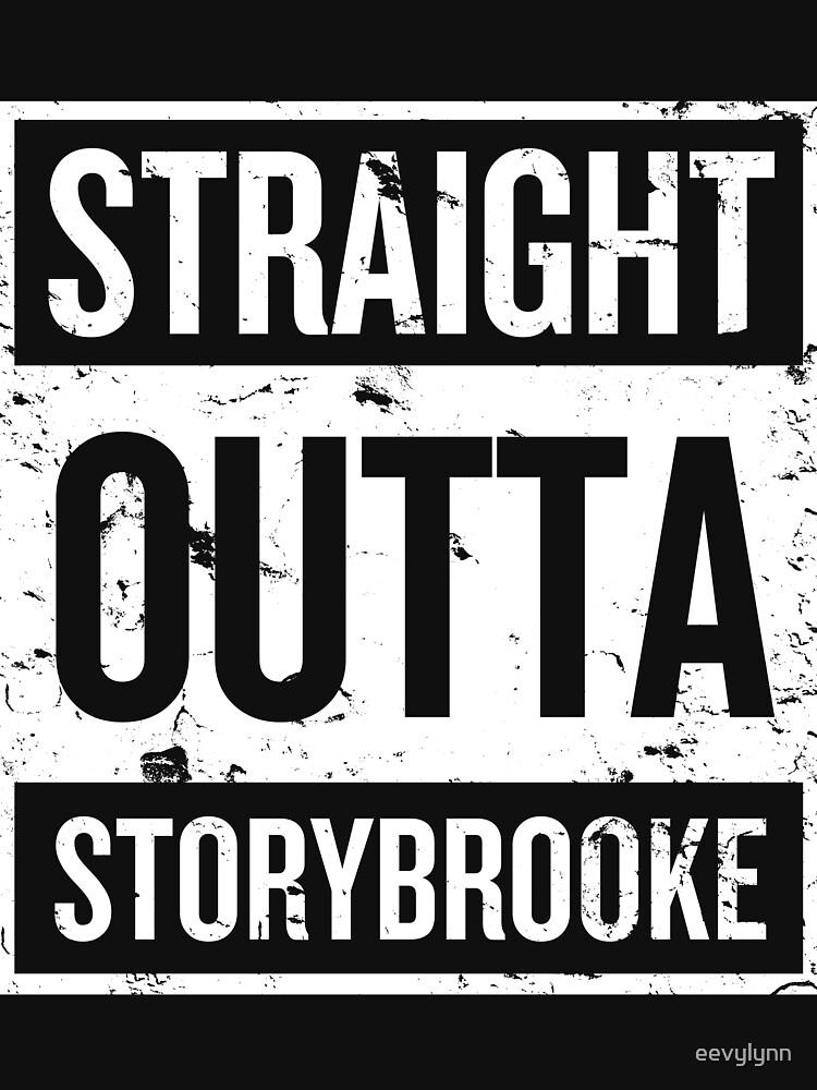 Straight Outta Storybrooke - White Words | Unisex T-Shirt