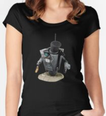 Fancy Butler Claptrap bot Women's Fitted Scoop T-Shirt
