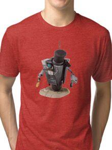 Fancy Butler Claptrap bot Tri-blend T-Shirt