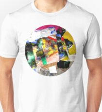 3-eyed fish collage T-Shirt