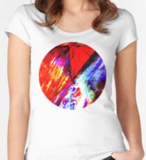 Orange, mix up Women's Fitted Scoop T-Shirt