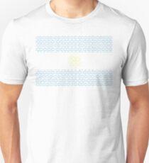 digital Flag Argentina T-Shirt