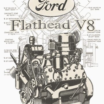 Flathead ford V8 by madmorrie