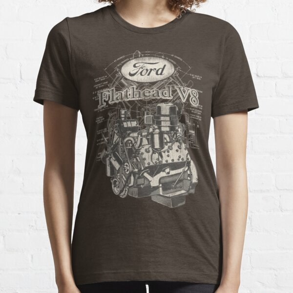 Flathead Ford V8 Essential T-Shirt