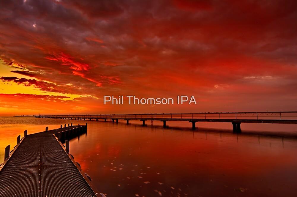 """Swan Bay Dawning"" by Phil Thomson IPA"