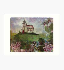807 church by gerda smit Art Print