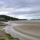 Arnside Beach. by Lilian Marshall