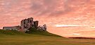 Duffus Castle Sunset by OpalFire