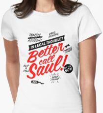 Better Call Saul Tailliertes T-Shirt