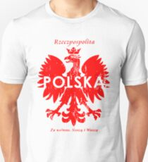 Polska Polish Republic T-Shirts and Hoodies Unisex T-Shirt