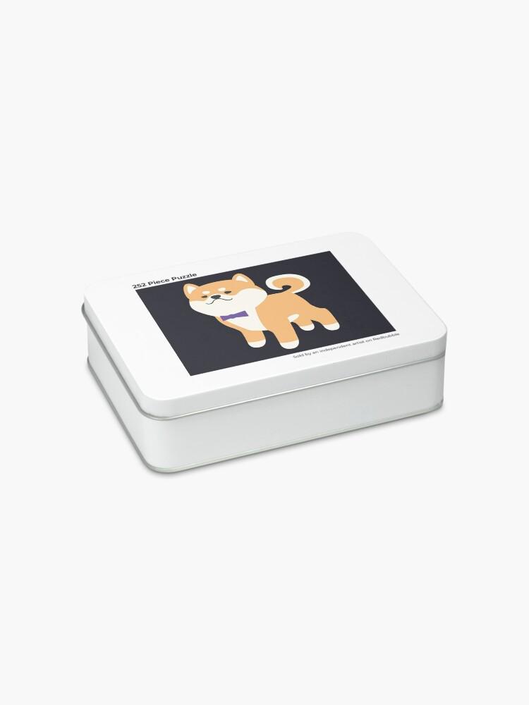 Alternate view of Formal Shiba Inu Jigsaw Puzzle