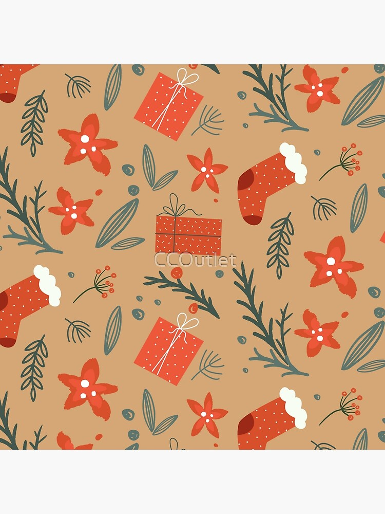 Cute Christmas Pattern by CCOutlet