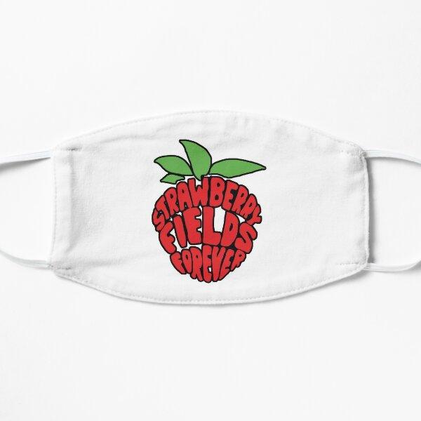 Strawberry Fields Forever  Flat Mask