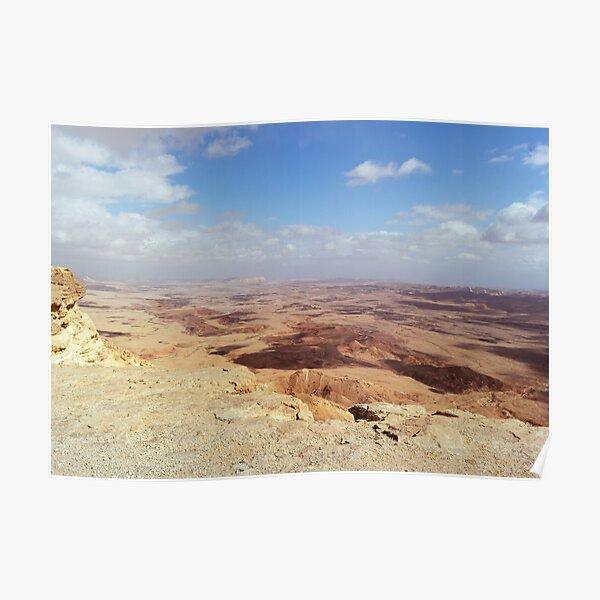 Israel, Mitzpe Ramon. Ramon Crater. Poster