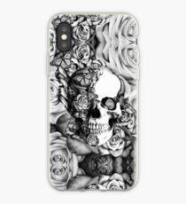 Ladybug Rose skull.  iPhone-Hülle & Cover