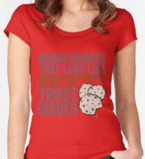 Raisin Cookies Women's Fitted Scoop T-Shirt