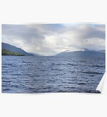 Loch Ness from Dores Poster