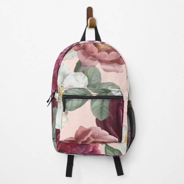 Romantic Floral Backpack