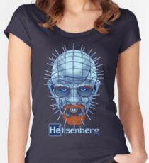Hellsenberg Text Women's Fitted Scoop T-Shirt