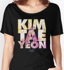 Girls' Generation (SNSD) Taeyeon 'Party' Women's Relaxed Fit T-Shirt