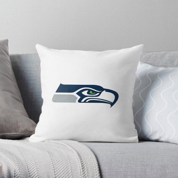 Seahawks, Seattle Throw Pillow