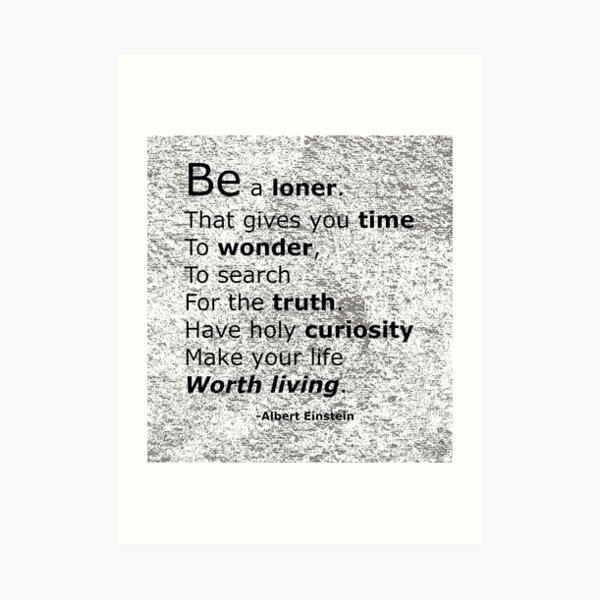 Introvert Values Art Print