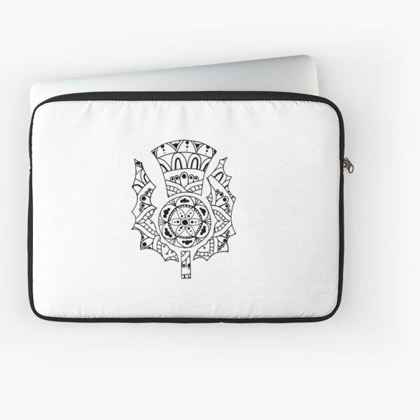 Thistle Mandala Laptop Sleeve