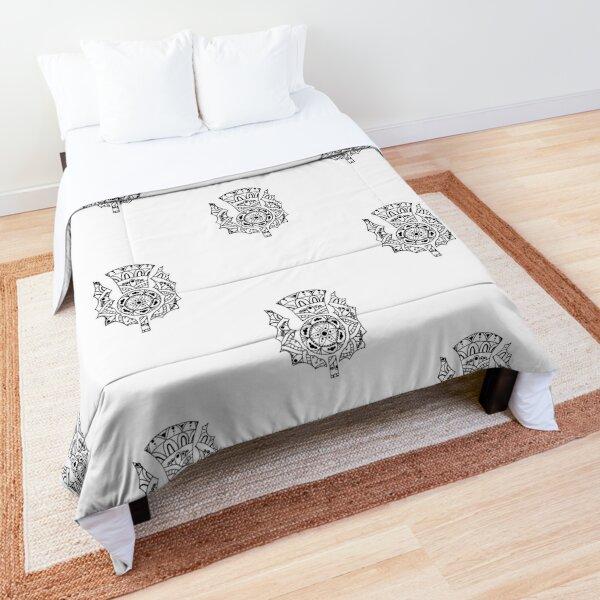 Thistle Mandala Comforter