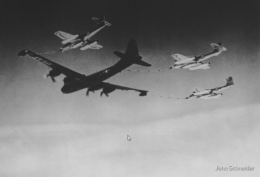 In-Flight Refueling by John Schneider