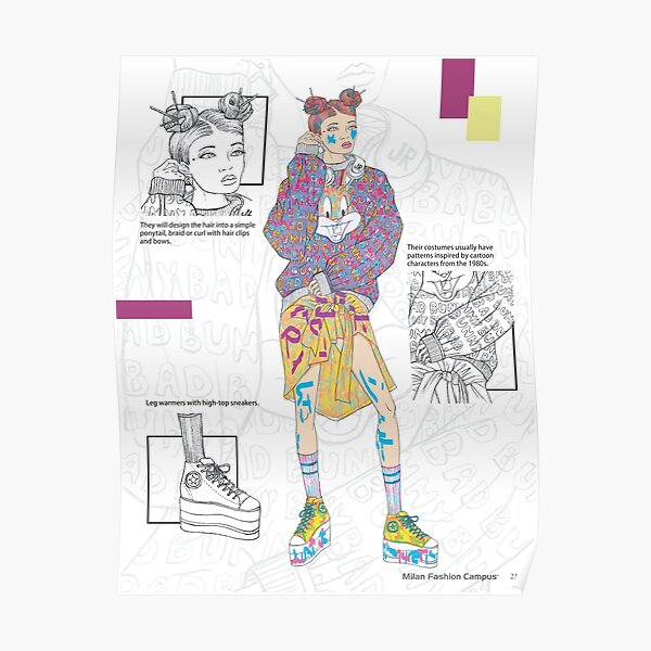 Decora Fashion Style - by Milan Fashion Campus  Poster