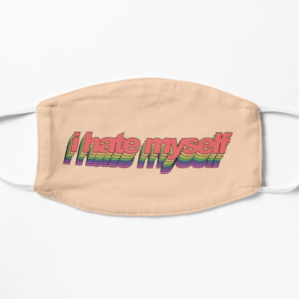 i hate myself - popart Small Mask