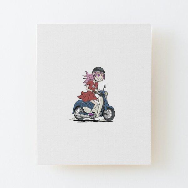 2018 Honda Supercub C125 Motome Wood Mounted Print